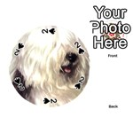 Old English Sheepdog ^ Playing Cards 54 (Round)