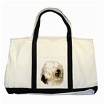 Old English Sheepdog ^ Two Tone Tote Bag