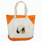 Old English Sheepdog ^ Accent Tote Bag