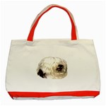 Old English Sheepdog ^ Classic Tote Bag (Red)