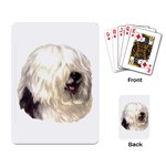 Old English Sheepdog ^ Playing Cards Single Design