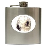 Old English Sheepdog ^ Hip Flask (6 oz)
