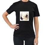 Old English Sheepdog ^ Women s Black T-Shirt