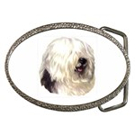 Old English Sheepdog ^ Belt Buckle