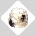 Old English Sheepdog ^ Car Window Sign