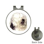 Old English Sheepdog ^ Golf Ball Marker Hat Clip