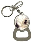 Old English Sheepdog ^ Bottle Opener Key Chain