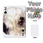Old English Sheepdog ^ Playing Cards 54 Designs