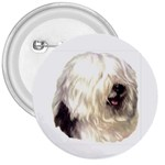 Old English Sheepdog ^ 3  Button