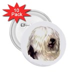 Old English Sheepdog ^ 2.25  Button (10 pack)