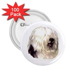Old English Sheepdog ^ 2.25  Button (100 pack)