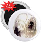 Old English Sheepdog ^ 3  Magnet (10 pack)