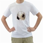 Old English Sheepdog ^ White T-Shirt