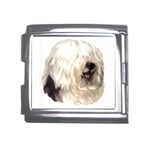 Old English Sheepdog ^ Mega Link Italian Charm (18mm)