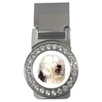 Old English Sheepdog ^ Money Clip (CZ)