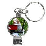 Cocker Spaniel ^ Nail Clippers Key Chain