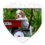 Cocker Spaniel ^ Jigsaw Puzzle (Heart)