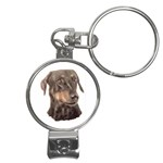 Dobermann Pinscher ^ Nail Clippers Key Chain