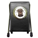 Dobermann Pinscher ^ Pen Holder Desk Clock