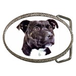 Staffie Black ^ Belt Buckle