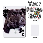 Staffie Black ^ Playing Cards 54 Designs
