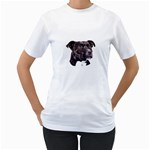 Staffie Black ^ Women s T-Shirt