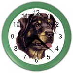Rottweiler ^ Color Wall Clock