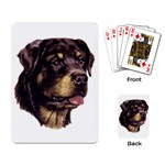 Rottweiler ^ Playing Cards Single Design