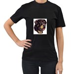 Rottweiler ^ Women s Black T-Shirt