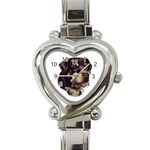 Rottweiler ^ Heart Italian Charm Watch