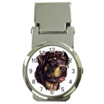 Rottweiler ^ Money Clip Watch