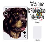 Rottweiler ^ Playing Cards 54 Designs