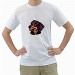 Dachshund Wiener Dog ^ White T-Shirt