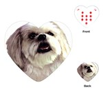 Lhasa Apso ^ Playing Cards (Heart)