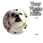 Lhasa Apso ^ Playing Cards 54 (Round)