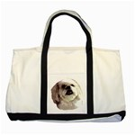 Lhasa Apso ^ Two Tone Tote Bag
