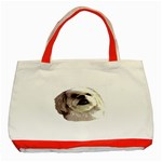Lhasa Apso ^ Classic Tote Bag (Red)