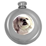 Lhasa Apso ^ Hip Flask (5 oz)