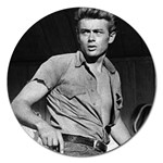 James Dean ^ Magnet 5  (Round)