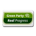 Green Party ^ Medium Bar Mat