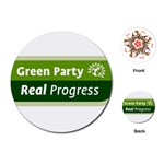 Green Party ^ Playing Cards (Round)