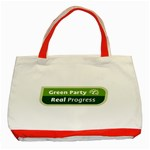 Green Party ^ Classic Tote Bag (Red)