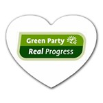 Green Party ^ Mousepad (Heart)