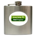 Green Party ^ Hip Flask (6 oz)