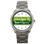 Green Party ^ Sport Metal Watch