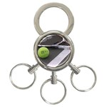 Tennis ^ 3-Ring Key Chain