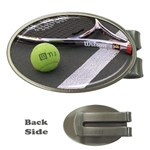 Tennis ^ Money Clip (Oval)