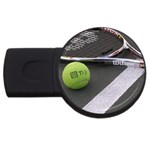 Tennis ^ USB Flash Drive Round (2 GB)