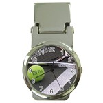 Tennis ^ Money Clip Watch