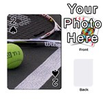 Tennis ^ Playing Cards 54 Designs